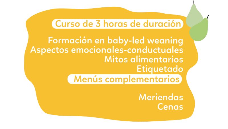baby led weaning para escuelas infantiles