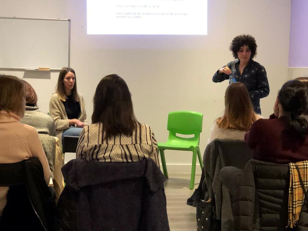 taller de baby-led weaning para profesionales